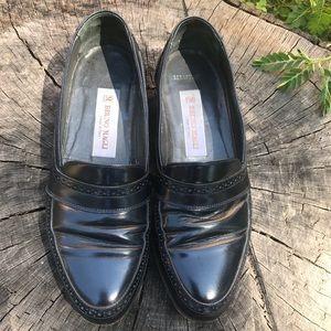 Bruno Magli Sebastian Men's Loafers Size 7/Navy